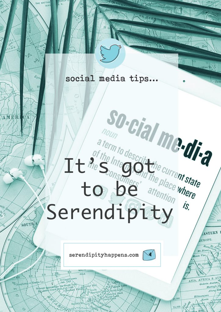 It's got to be Serendipity…
