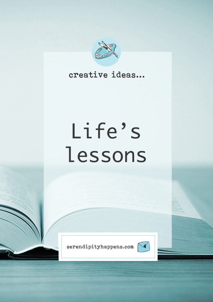 Life's lessons…